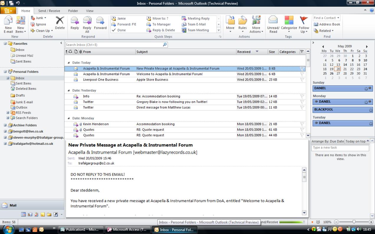 Microsoft Office 2010: коротко о главном