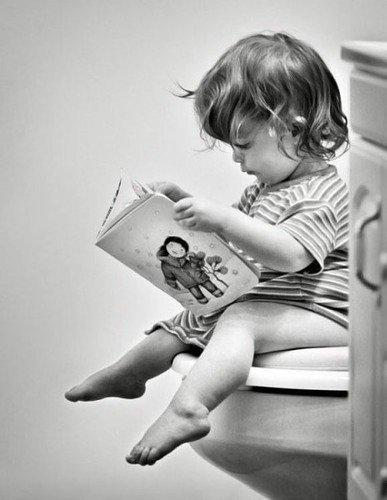 Что бы такое почитать... в туалете?