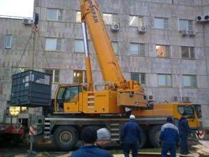 Такелажные работы в Москве