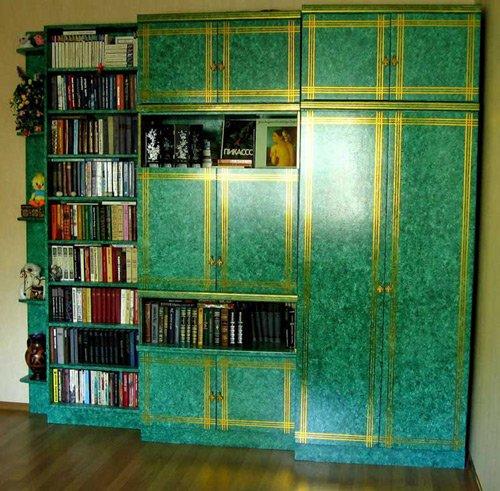 Как декорировать старую стенку