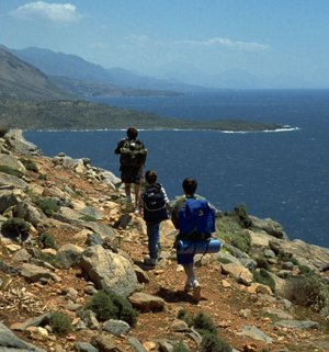 Любимые места хайкеров в Греции
