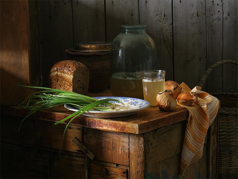 Как приготовить домашний квас из ржаного хлеба