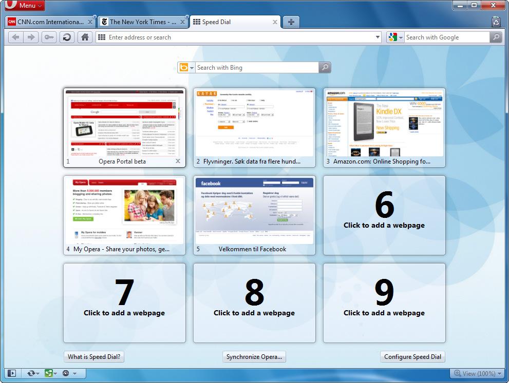 Как сделать так, чтобы Интернет-браузер Opera работал быстрее в момент запуска?