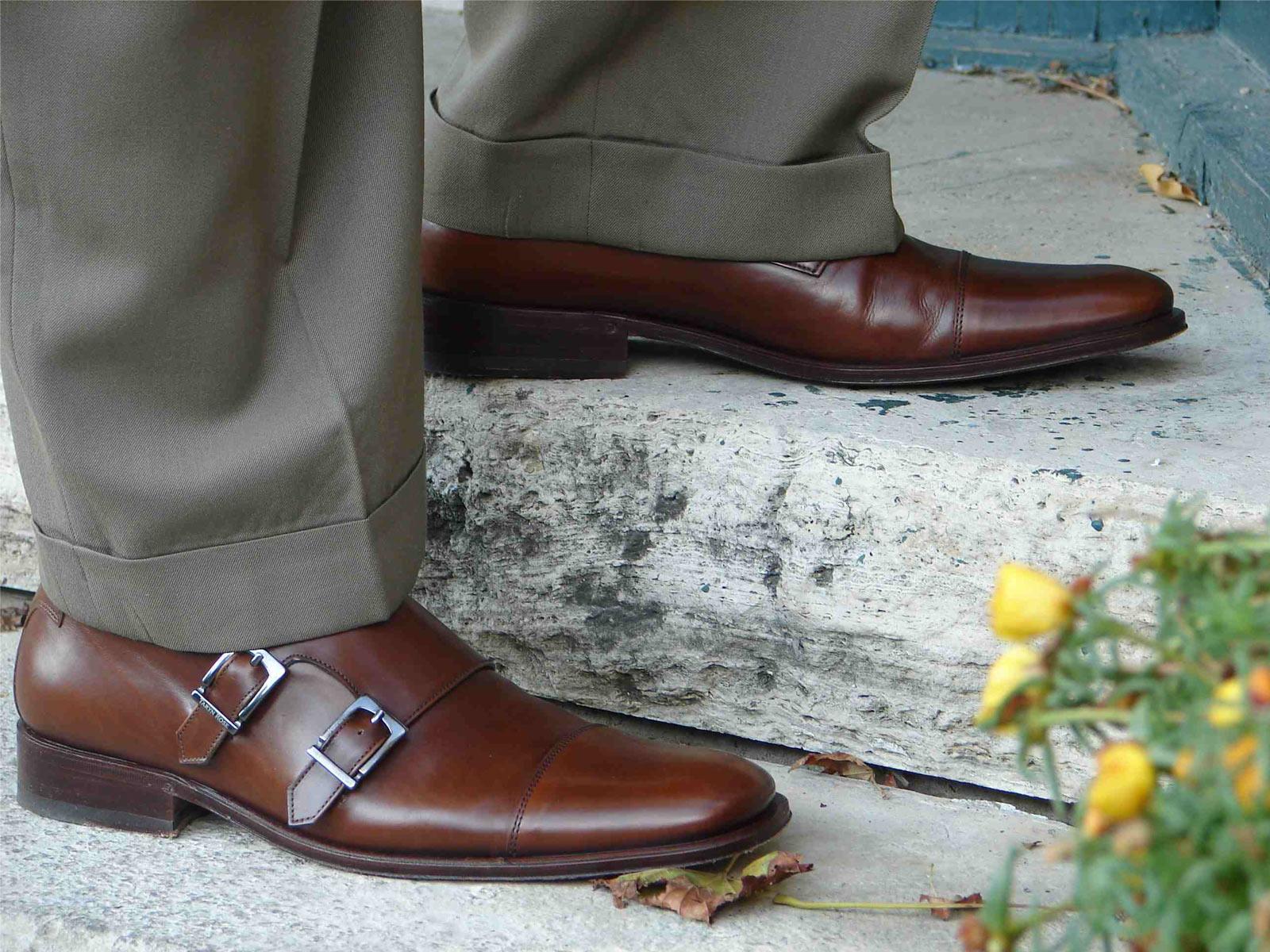Обувь подчеркивает индивидуальность мужчины