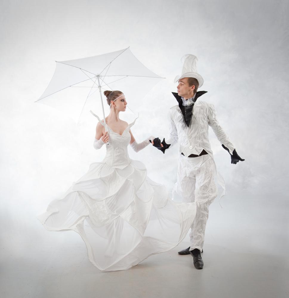 Необычное свадебное платье: отходим от традиций