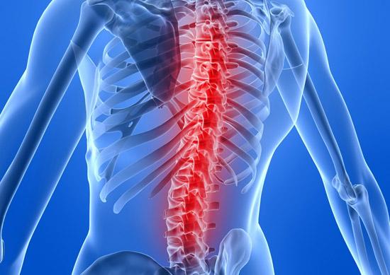 Помощь больной спине