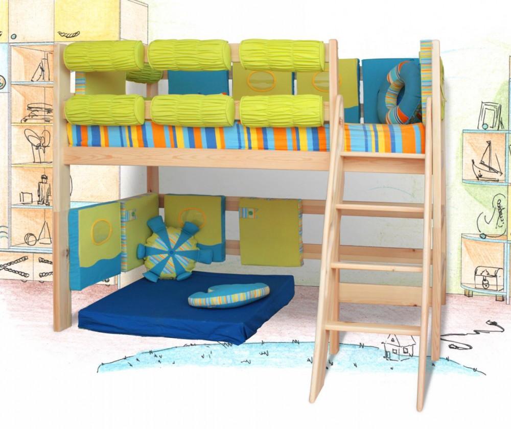 Детская кровать-чердак – многофункциональность и практичность