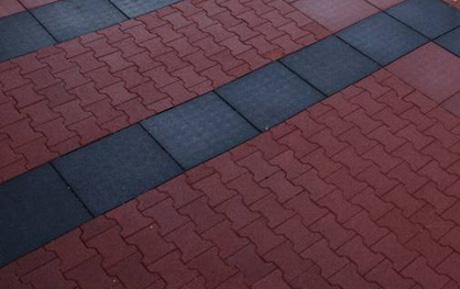 Использование резинового покрытия