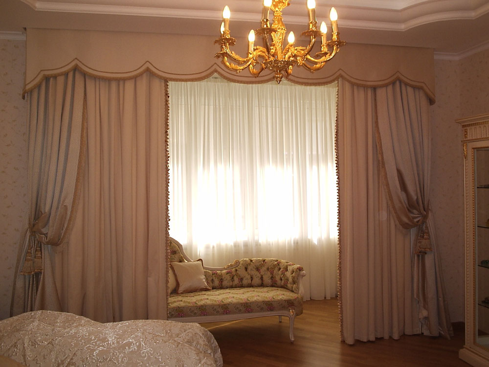 Правильные шторы украшение