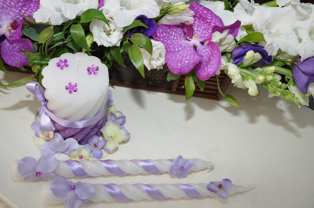 Свадебные свечи – элегантные аксессуары, озаряющие торжество светом романтики