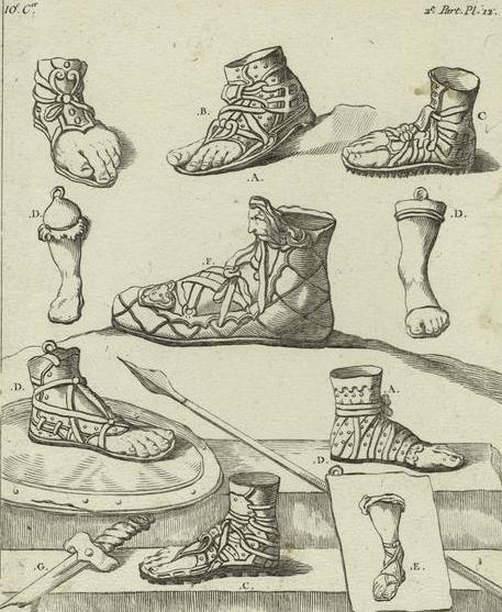 Советы по созданию исторической обуви