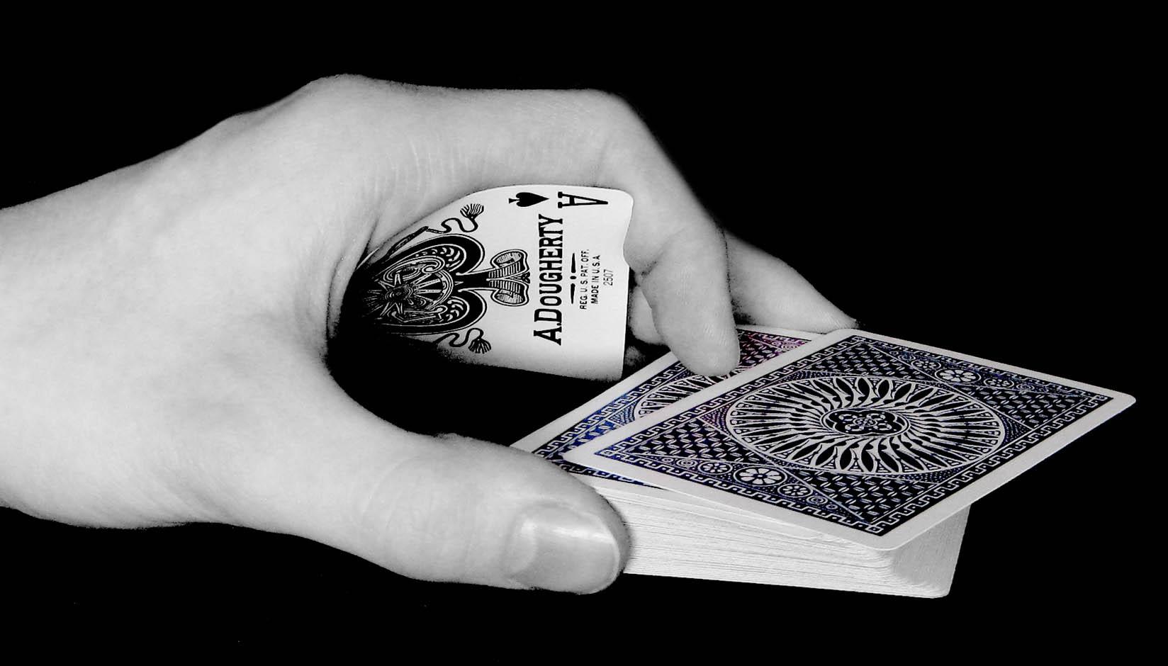 Разгадка карточного фокуса иллюзиониста Динамо