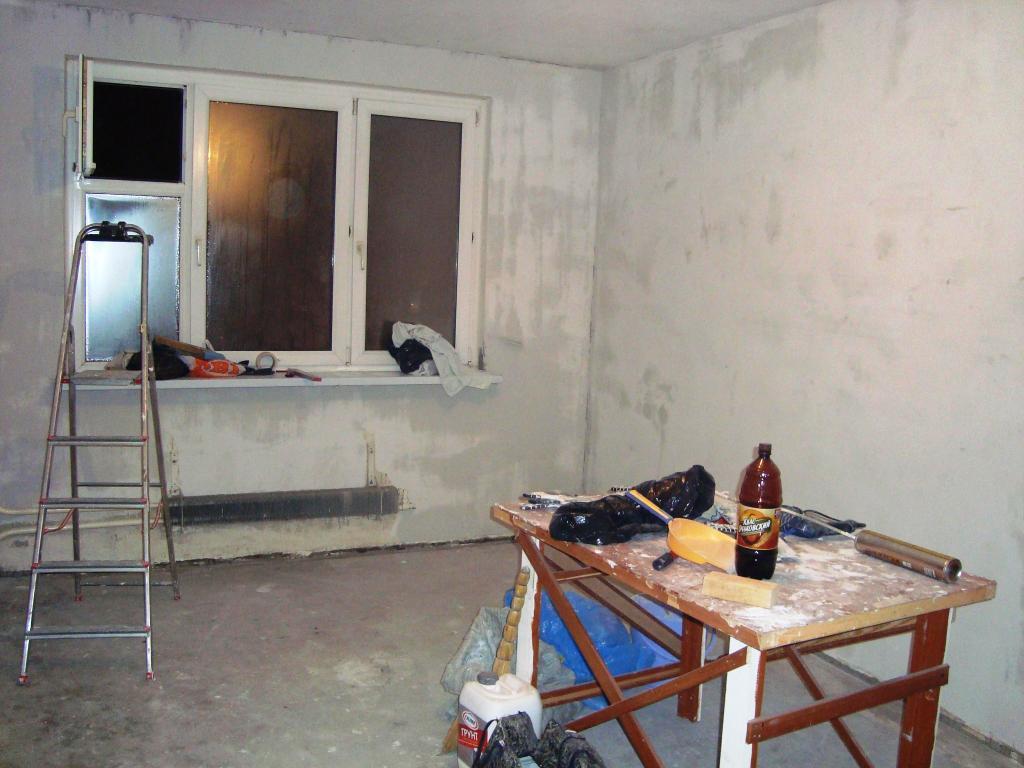 При ремонте квартиры важно соблюдать очередность операции