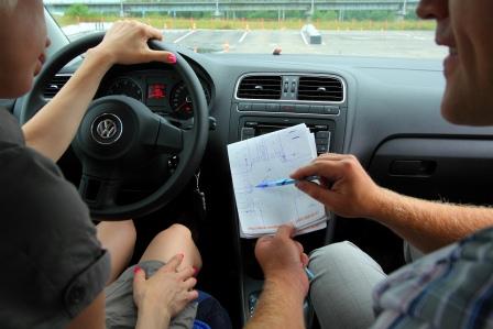 Практические занятия у автоинструктора в Москве