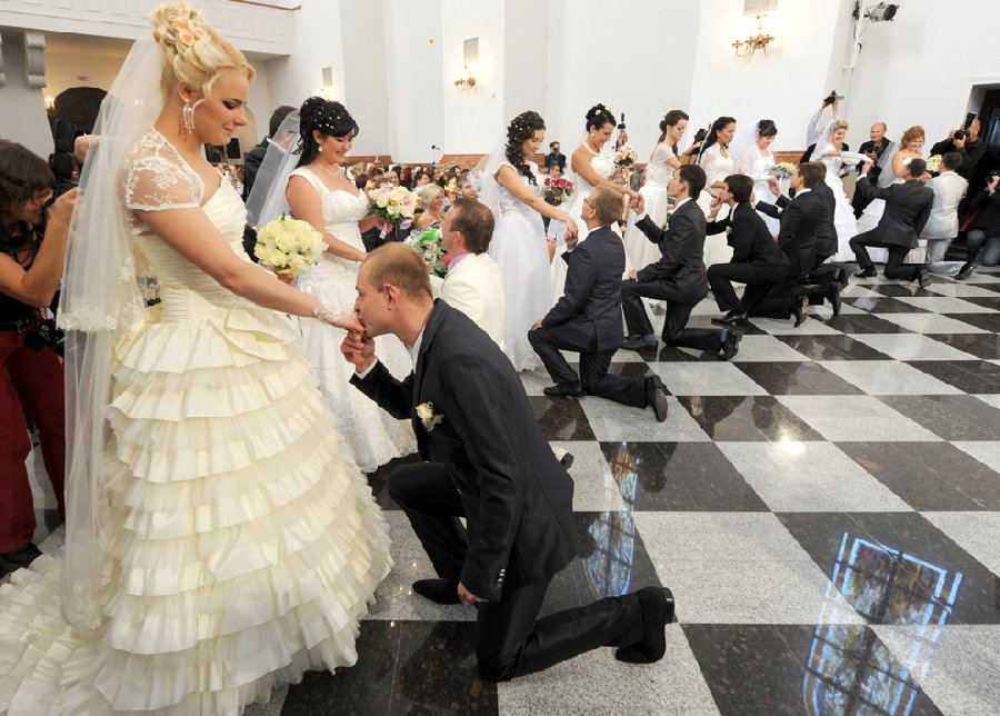 Видео- и фотосъемка свадебных церемоний