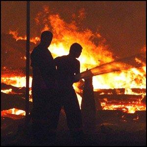 Борьба с пожарами в России