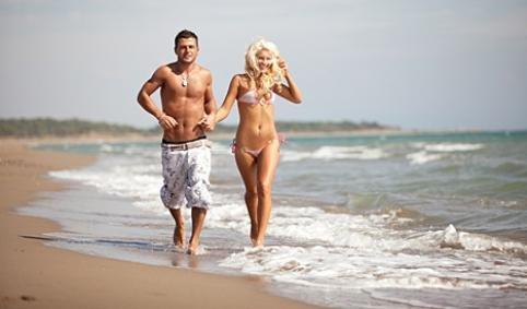 Февраль – удобное время для пляжного отдыха