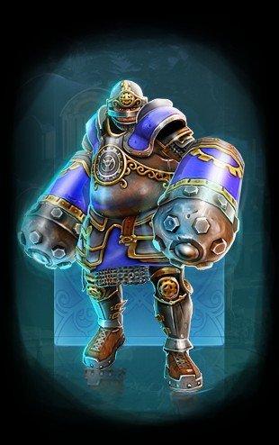 Герой Человек-Гора в Prime World