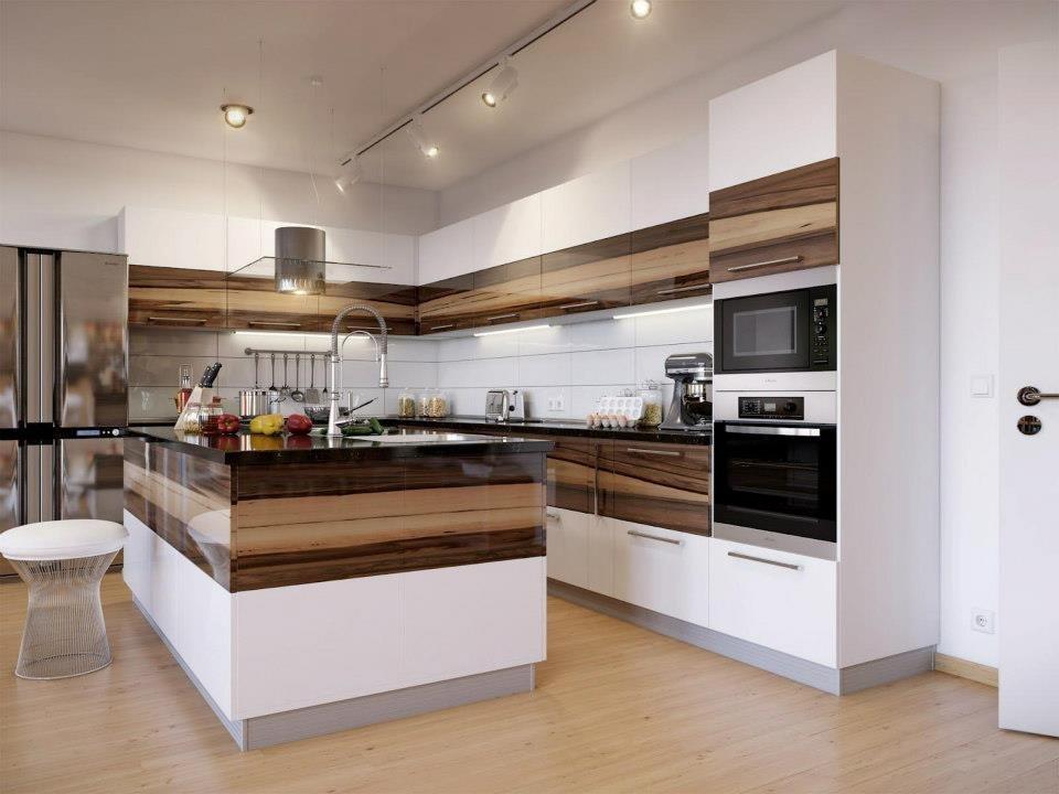 Современные идеи для отделки кухни или спальни