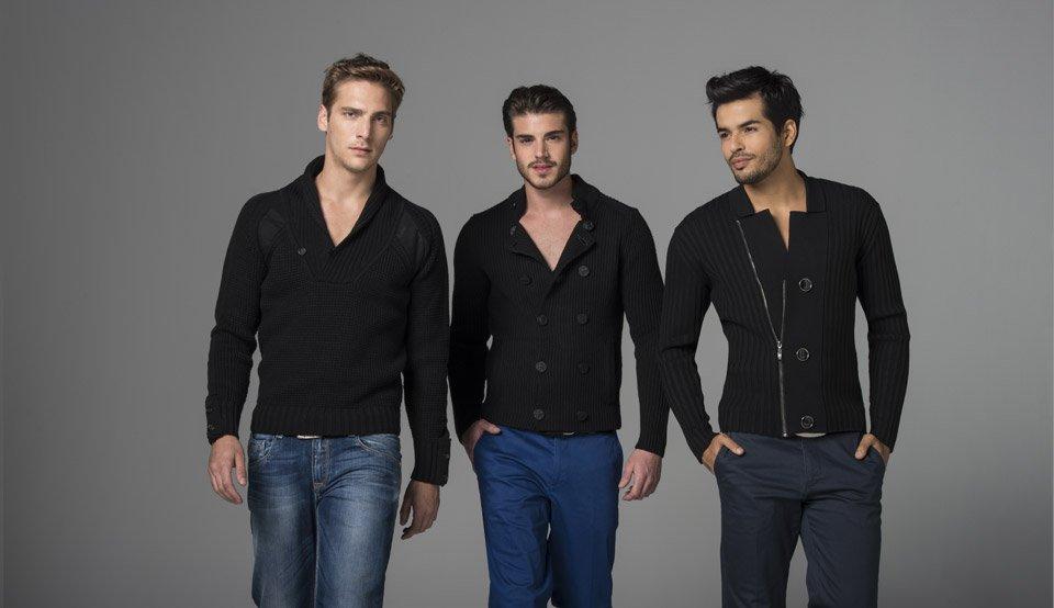 Джемперы и кардиганы: универсальный мужской трикотаж