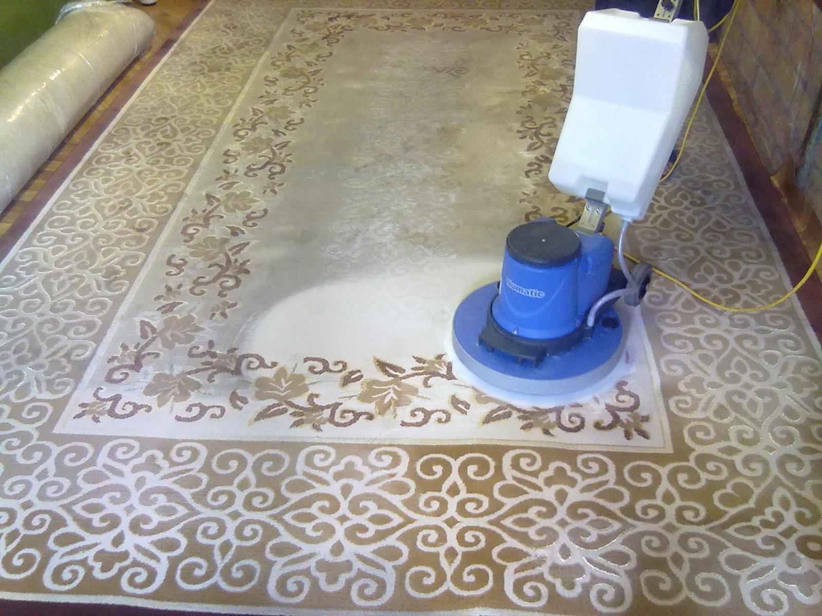 Химчистка ковров в домашних условиях