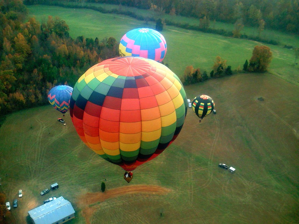 Завораживающие полёты на воздушных шарах