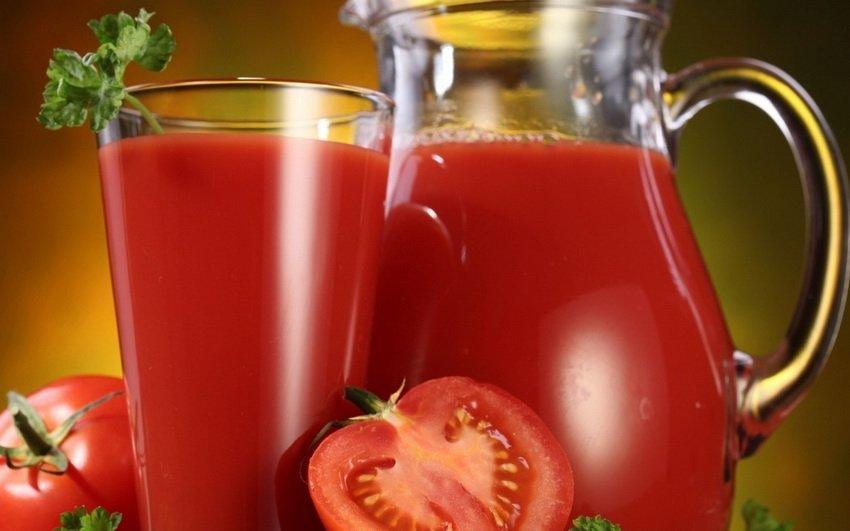 Один стакан томатного сока каждый день поможет предотвратить развитие рака
