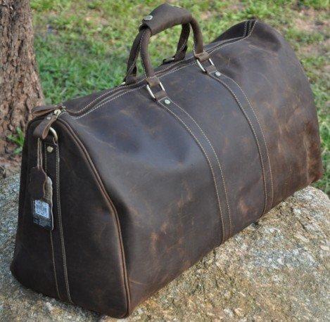 Дорожные сумки из кожи и их главные преимущества