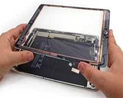 Замена стекла на iPad Air — прерогатива профессионалов