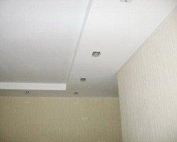 Гипсокартонный потолок своими руками