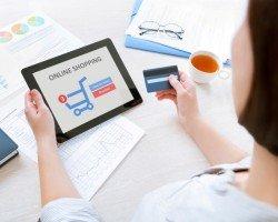 Развитие торговли в интернете