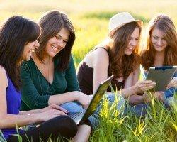 Посещаемость социальных сетей Рунета