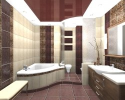 Выбираем интерьер для совмещенной ванной