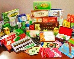 Китайская косметика и средства медицины