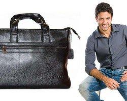 Основные нюансы выбора мужских сумок. Их разновидности