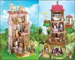 Миниатюрные игрушки Sylvanian Families
