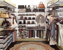 Как правильно хранить вещи в шкафу
