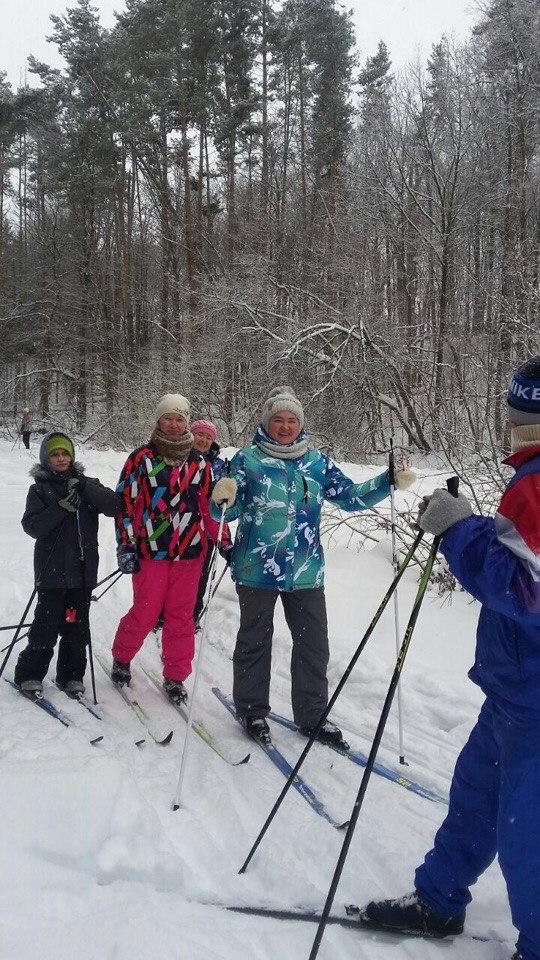 На лыжню вышли все жители Малой Елги