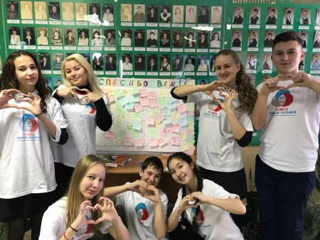 В Лаишевской СОШ №2 и в Именьковской школе  выросли Деревья благодарности