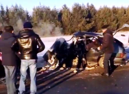 Страшная авария: в лобовом столкновении легковушек погибло сразу четверо