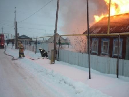 Пожар потушили менее чем за 15 минут
