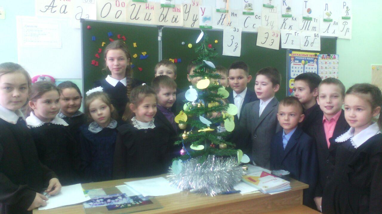 К акции «Дерево благодарности» присоединяются школьники Малой Елги и Державино