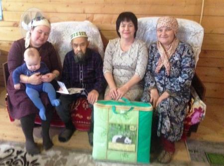 Житель Малой Елги отметил 90 лет