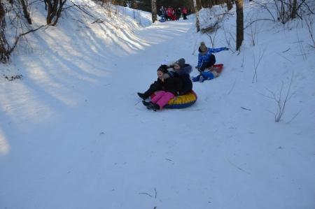 В Лаишевском районе новогодние каникулы – это время для спорта и отдыха