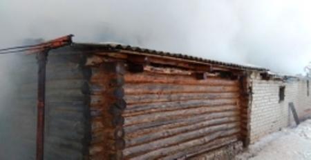 Женщина сгорела в собственном доме