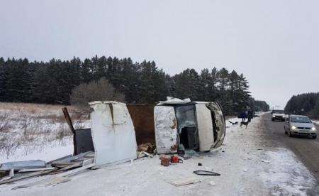 В серьезной аварии чудом выжили оба водителя