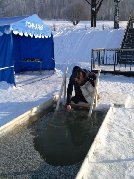 В Лаишевском районе широко отмечают праздник Крещения (фото)