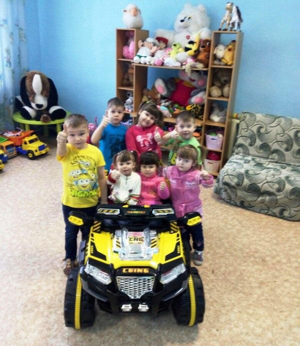 Детскому дому подарили машину