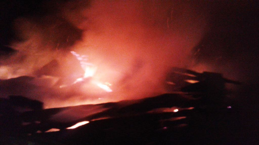 В Лаишевском районе сгорел дом