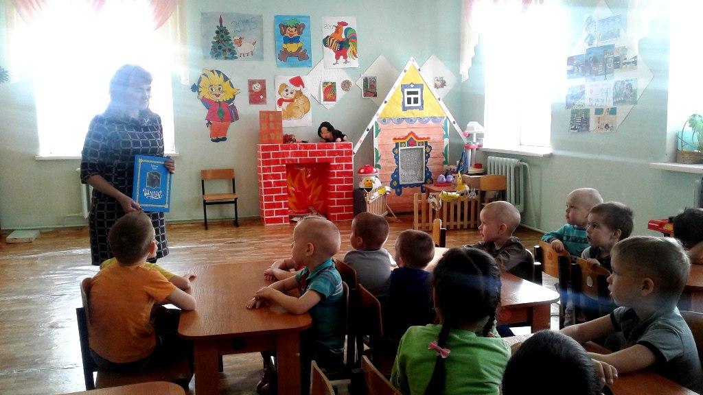 Дошколята изучают родной язык